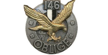 Insigne regimentaire du 146e regiment d infanterie oblige 3